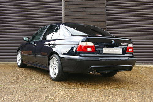 2003 BMW E39 525i Individual Automatic Saloon (44,253 miles) SOLD (picture 3 of 6)