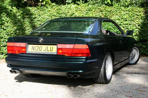 1995 BMW 840CI - MUCH RECENT EXPENDITURE - GOOD VALUE EXAMPL SOLD (picture 5 of 6)