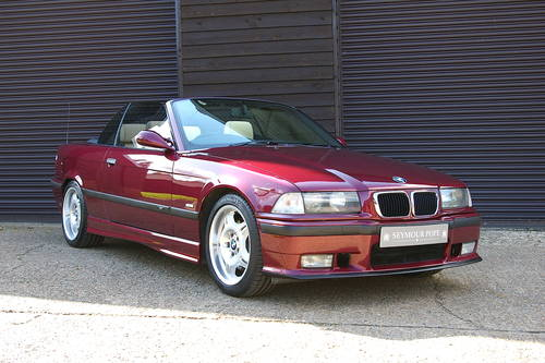 1997 BMW M3 3.2 EVOLUTION Convertible Manual (59452 miles) SOLD (picture 2 of 6)