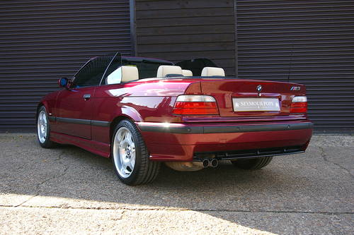 1997 BMW M3 3.2 EVOLUTION Convertible Manual (59452 miles) SOLD (picture 3 of 6)