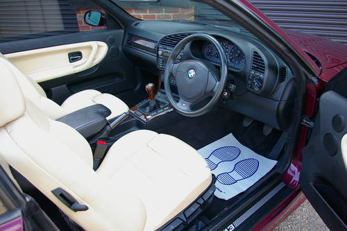 1997 BMW M3 3.2 EVOLUTION Convertible Manual (59452 miles) SOLD (picture 4 of 6)