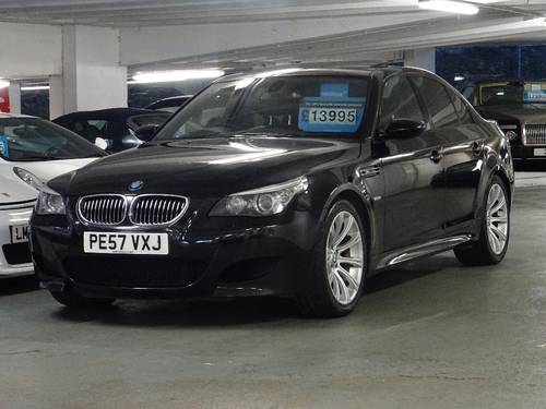 2007 BMW M5 5.0 SMG 4dr HUGE SPEC + FACE LIFT MODEL For Sale (picture 2 of 6)
