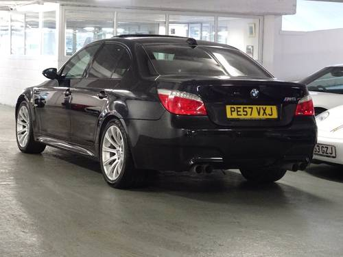 2007 BMW M5 5.0 SMG 4dr HUGE SPEC + FACE LIFT MODEL For Sale (picture 3 of 6)