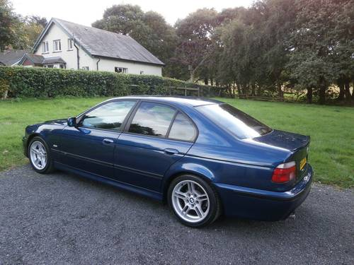 1999 BMW 525I M SPORT BLUE JAP IMPORT 37K VERY RARE! SOLD (picture 1 of 6)