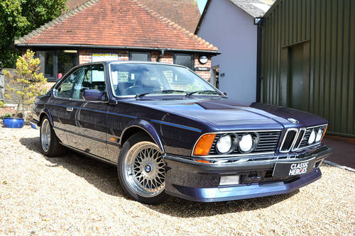 1987 BMW M635 CSi in Royal Blue For Sale (picture 1 of 6)