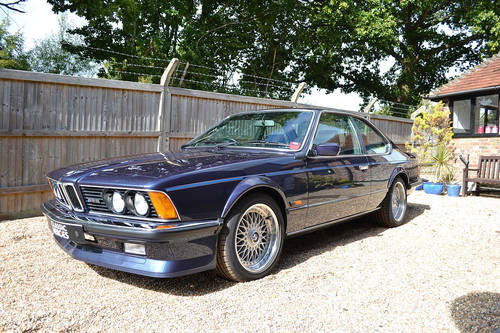 1987 BMW M635 CSi in Royal Blue For Sale (picture 2 of 6)
