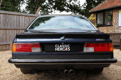 1987 BMW M635 CSi in Royal Blue For Sale (picture 3 of 6)