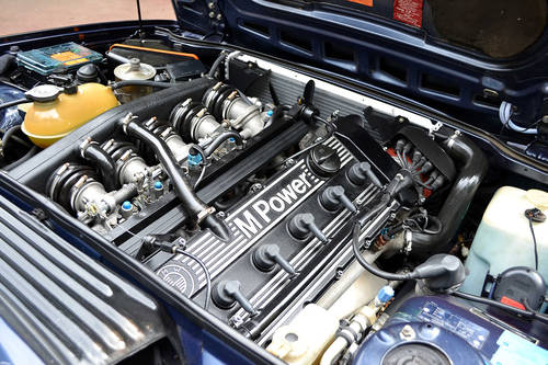 1987 BMW M635 CSi in Royal Blue For Sale (picture 4 of 6)