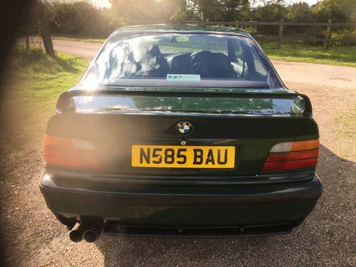 1995 E36 M3 GT S50 - Individual - British racing green -  50 RHD For Sale (picture 6 of 6)