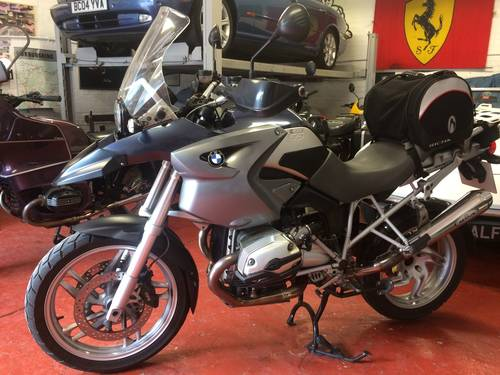 2005 BMW R1200 GS, 1 owner from new. SOLD (picture 2 of 6)