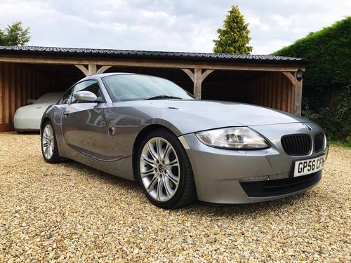 2006 BMW Z4 SI SPORT COUPE AUTOMATIC FSH (SIMILAR CARS REQUIRED) For Sale (picture 1 of 6)