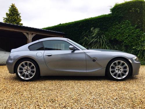 2006 BMW Z4 SI SPORT COUPE AUTOMATIC FSH (SIMILAR CARS REQUIRED) For Sale (picture 2 of 6)