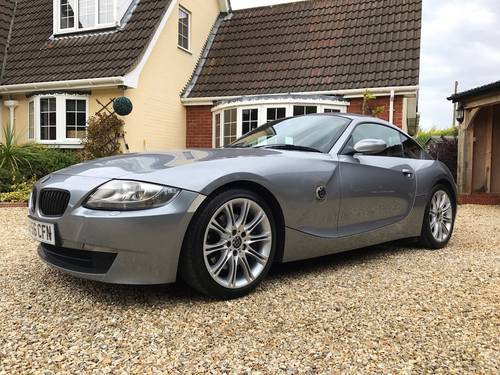 2006 BMW Z4 SI SPORT COUPE AUTOMATIC FSH (SIMILAR CARS REQUIRED) For Sale (picture 3 of 6)
