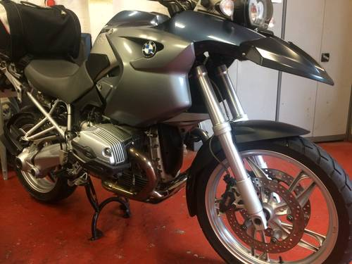 2005 BMW R1200 GS, 1 owner from new. SOLD (picture 3 of 6)