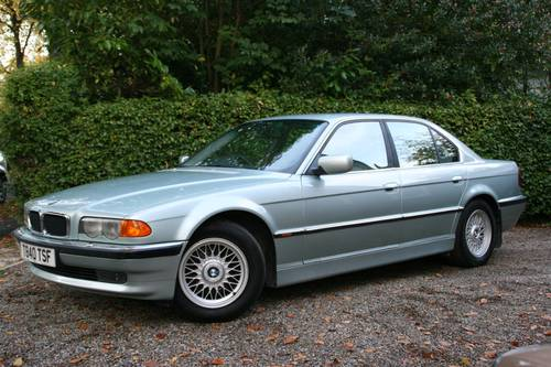 1999 T GLACIER GREEN E38 740I WITH EXCELLENT SPECIFICATION SOLD (picture 1 of 6)