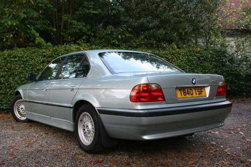 1999 T GLACIER GREEN E38 740I WITH EXCELLENT SPECIFICATION SOLD (picture 2 of 6)