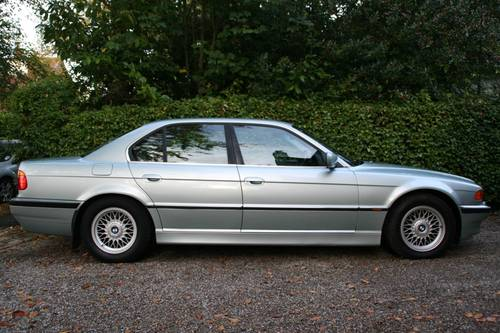 1999 T GLACIER GREEN E38 740I WITH EXCELLENT SPECIFICATION SOLD (picture 3 of 6)
