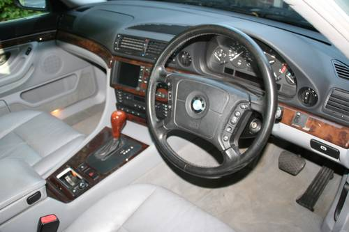 1999 T GLACIER GREEN E38 740I WITH EXCELLENT SPECIFICATION SOLD (picture 4 of 6)