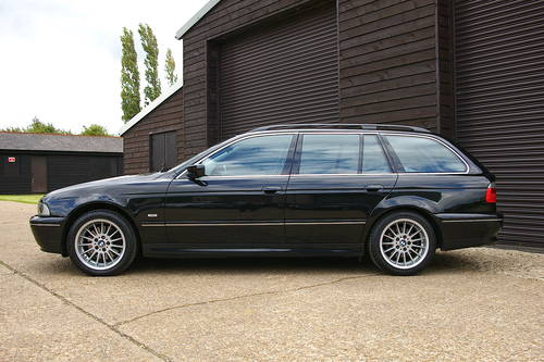 2002 BMW E39 540i 4.4 V8 Touring Automatic (62,342 miles) SOLD (picture 1 of 6)