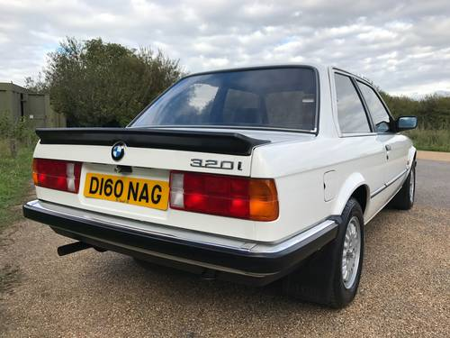 1987 BMW 320i Coupé (E30), stunning condition 74k miles SOLD (picture 2 of 6)