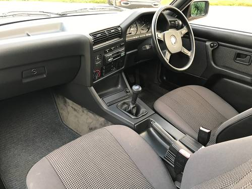 1987 BMW 320i Coupé (E30), stunning condition 74k miles SOLD (picture 4 of 6)