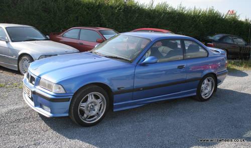 1996 BMW M3 E36 Evo Coupe Estoril Blue Resto Proj. For ...