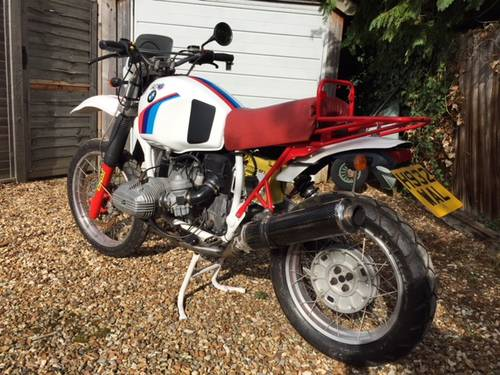 BMW R100 GS HPN SOLD   Car And Classic