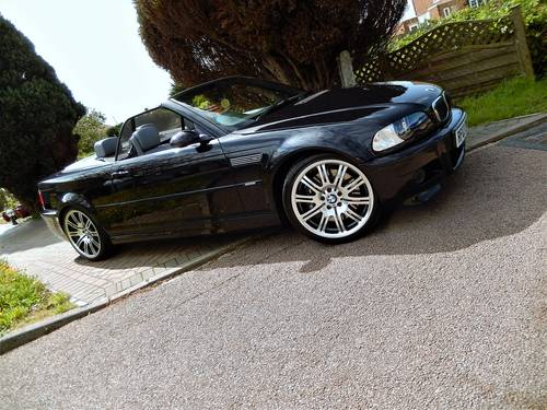 2003 Ultimate M3 convertible -- proven 550BHP supercharged  SOLD (picture 1 of 6)