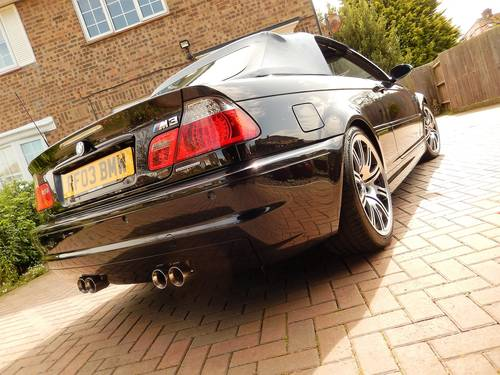 2003 Ultimate M3 convertible -- proven 550BHP supercharged For Sale