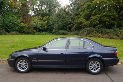 BMW E39.. 525i SE.. 46,500 MILES! FSH..EXCELLENT THROUGHOUT SOLD (picture 1 of 6)