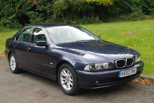 BMW E39.. 525i SE.. 46,500 MILES! FSH..EXCELLENT THROUGHOUT SOLD (picture 2 of 6)