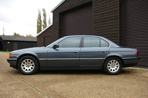 2001 BMW 735i SE Automatic Saloon (13,646 miles) SOLD (picture 1 of 6)