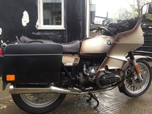 1979 BMW R65, with colour matched RS fairing. SOLD (picture 2 of 6)