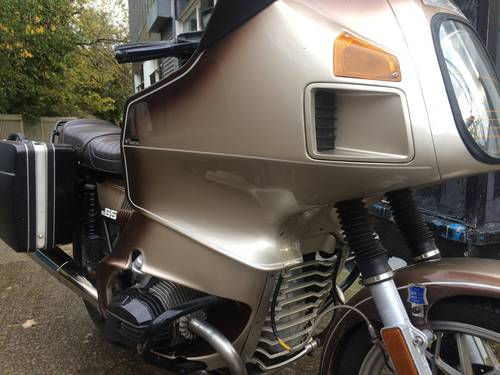 1979 BMW R65, with colour matched RS fairing. SOLD (picture 6 of 6)