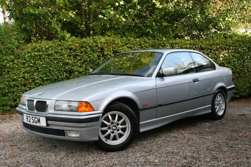 1997 E36 316I COUPE - 2 OWNERS - 40K MILES SOLD (picture 1 of 6)