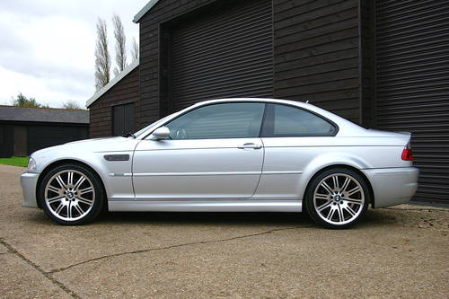 2003 BMW E46 M3 3.2 6 Speed Manual Coupe (33,841 miles) SOLD (picture 1 of 6)