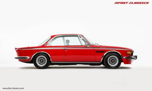 1973 BMW 3.0 CSL // Superb Service Records SOLD (picture 1 of 6)