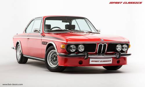 1973 BMW 3.0 CSL // Superb Service Records SOLD (picture 2 of 6)