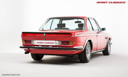 1973 BMW 3.0 CSL // Superb Service Records SOLD (picture 3 of 6)