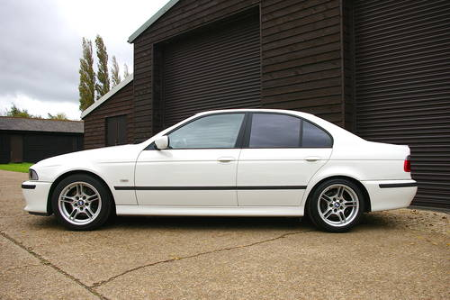 2002 BMW E39 530i Sport Saloon Automatic (41,652 miles) SOLD (picture 1 of 6)