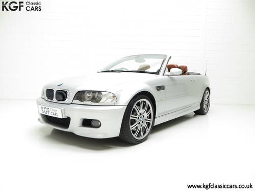 2001 A Stunning BMW E46 M3 Convertible with 45,337 Miles SOLD (picture 2 of 6)