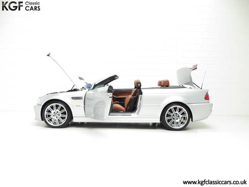 2001 A Stunning BMW E46 M3 Convertible with 45,337 Miles SOLD (picture 3 of 6)