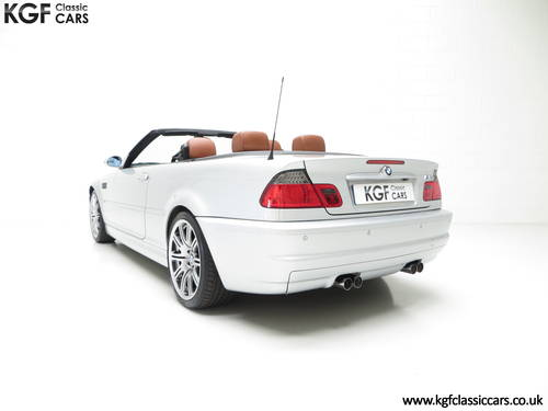 2001 A Stunning BMW E46 M3 Convertible with 45,337 Miles SOLD (picture 4 of 6)