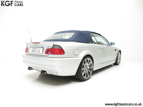 2001 A Stunning BMW E46 M3 Convertible with 45,337 Miles SOLD (picture 5 of 6)