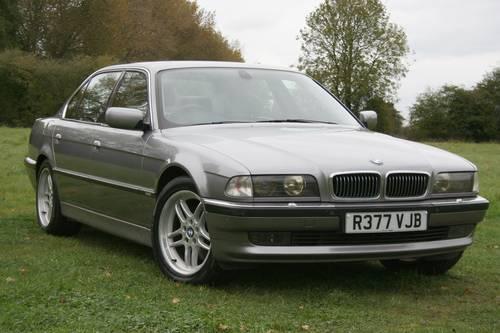 1998 bmw 750il v12 auto sold car and classic. Black Bedroom Furniture Sets. Home Design Ideas