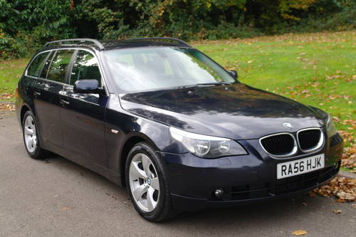 BMW 520d SE TOURING (E61).. 6-SPEED.. NICE SPEC.. F/BMW/S/H SOLD (picture 2 of 6)