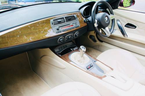 2003 Z4 3.0I SE MANUAL - MERLOT RED WITH CREAM LEATHER  SOLD (picture 6 of 6)