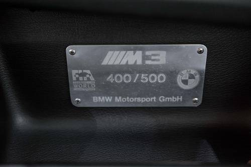 1988 BMW 3 Series E30 M3 Evolution II #400/500 For Sale (picture 5 of 6)