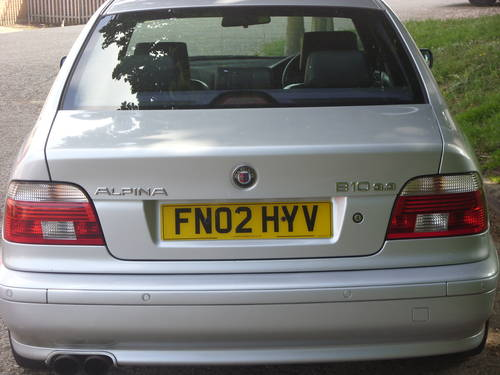 2002  Alpina   B10  ## Shadow Line  ## Manual ##  For Sale (picture 3 of 6)