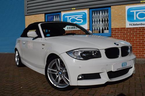 2011 BMW 120d M Sport Convertible Automaatic SOLD (picture 1 of 6)